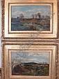 George Herbert Jupp (1869-?) Pair oil on board