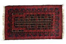 Carpet / Rug : A handmade woollen Caucasian style