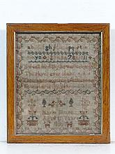 Sampler : ' Maria Shure ....1836 ' a silk and