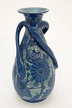 An early 20thC Brannam Pottery vase by Frank