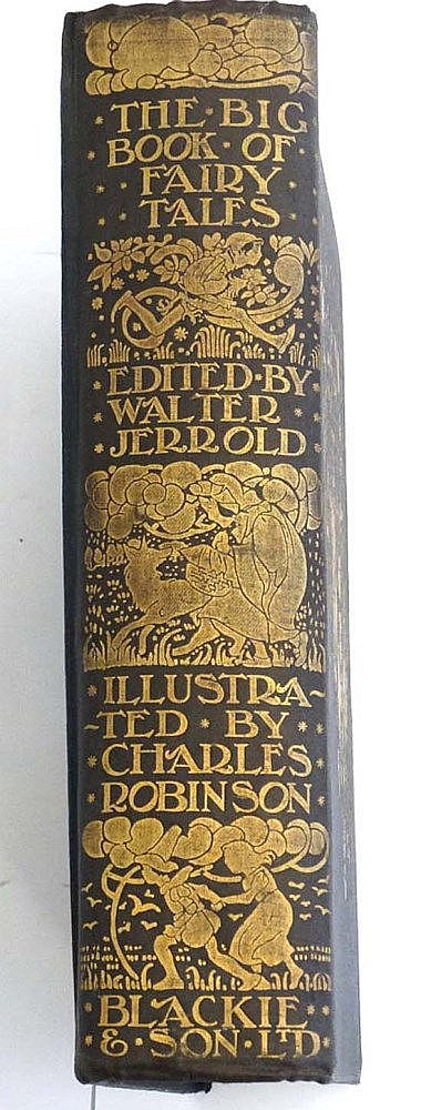 Book : A 1911 edition of ' The Big Book of Fairy T