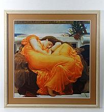 Pre - Raphaelite School A contemporary coloured