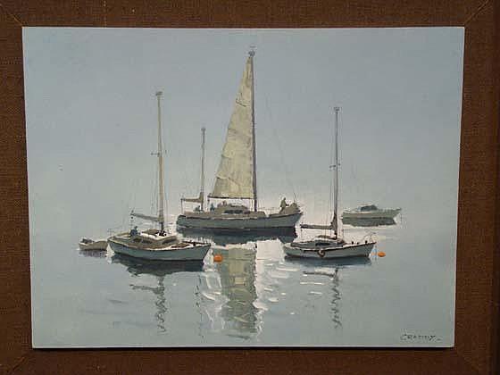 Eric Haysom Craddy (XX) (1913 -?) ARSA Oil on