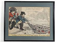 Charles Williams 1806 Political / Satirical hand