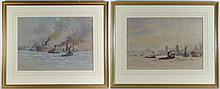Circa 1930 English School A pair watercolours and
