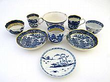 A quantity of English and Chinese Blue & White