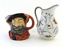 A Royal Doulton Character Jug entitled Falstaff