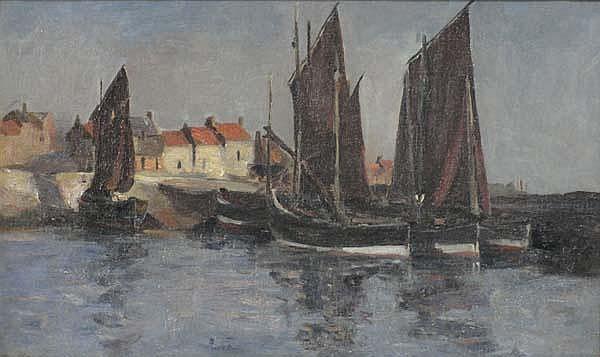 Sara B Dibdin WIA (1874-?) Scottish Oil on canvas