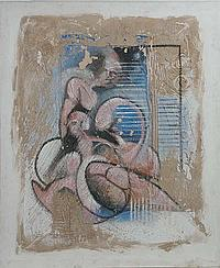 Anthony David Woods (1940) Australian Oil on
