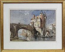Attributted to George Vicat Cole (1833-1893), Watercolour, C