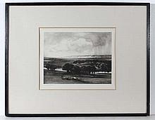 E Lalaude Patterson c. 1920 Monochrome mezzotint '