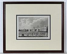 J Pass after Edward Pugh Engraving 'The Admiralty