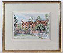Carol Fisher XX Watercolour ' Hemyngsby - The