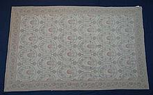 Carpet / Rug - Abusson woollen carpet with a grey