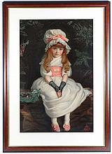 After Sir John Everett Millais (1829-1896) A Pears