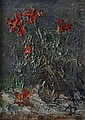Russian Impressionist School Oil on canvas heavy