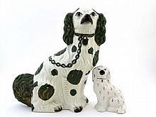 Victorian Staffordshire Staffordshire Spaniels