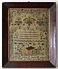 Sampler : ' Drusilla Edmonds July 19 1845 ' with