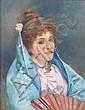 Leo A Malempré (1860-1901) Oil on canvas Young, Leo Malempré, Click for value