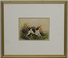 Charles Edward Britton (1870-1949), Canine School, Portrait of a Fox hound