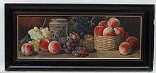 Giovanni Barbaro  1864-1915 ) Italian, Watercolour, Still life of various f