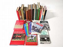 Books: A quantity of books on racing and horses