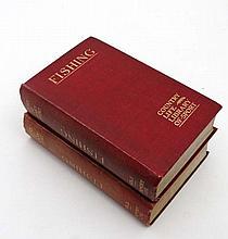 Books: Horace G Hutchinson Fishing 2 vols,