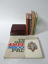 Books: A quantity of books on sporting art