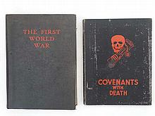 Militaria : Two books on the subject of the First World War, comprising ' C