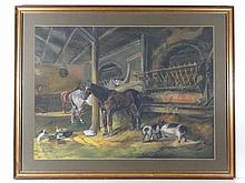 C.J Ostach after J P Herring ( 1795-1865) Pastel