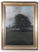 Tim Whitby early XX Naïve School Oil on canvas