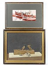 Robert G. Galbraith XX Two paintings, a