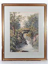 W Barrow XIX-XX Watercolour with gouache and