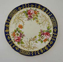 A Crown Staffordshire Fine Bone China Plate.