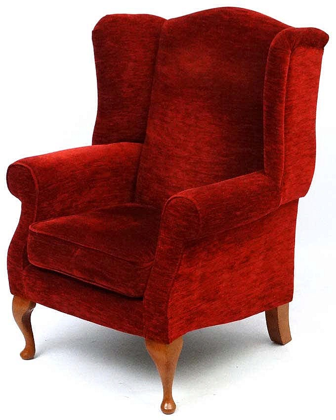 A 21stc upholstered wing back armchair by john lewis 43 1 2 for John lewis chinese furniture