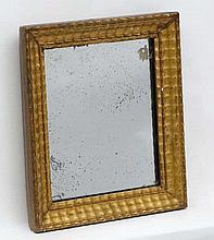 The Rowley Gallery Ltd. : A c.1900 gilt framed wall mirror. The whole 12 1/