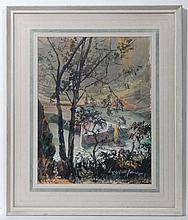 Beresford Johnson ( 1900-?) Watercolour and