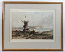 English School circa 1850 Watercolour Near