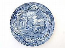 A 19th Century Copeland Spode blue and white