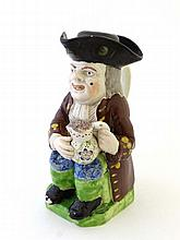 19th Century Toby Jug: A early 19th Century