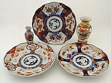 Japanese ceramics: 5 items to include a signed