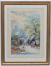William Widgery (1822-1893), Watercolour and gouac