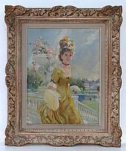John Strevens (1902 - 1990) Oil on canvas, Paris,