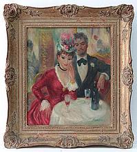 John Strevens (1902 - 1990), Oil on canvas Paris,