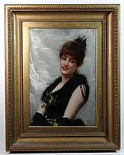 Frank Markham Skipworth (1854-1929) Oil on canvas