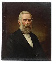 XIX Scottish Portrait Oil on canvas Portrait of