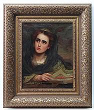 Saint George Hare? (1857-1933) Irish Oil on canvas
