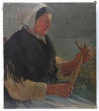 Dora Boughton-Leigh (act.1903-1940) Oil on canvas