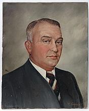 Igor Jasinski (1914-1968) Russian / German Oil on