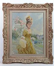 John Strevens (1902 - 1990), Oil on canvas, Paris,